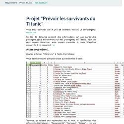 Projet Titanic