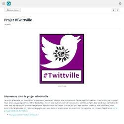 Projet #Twittville - Cloudschool