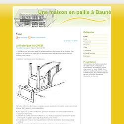 Projet - Une maison en paille à Bauné