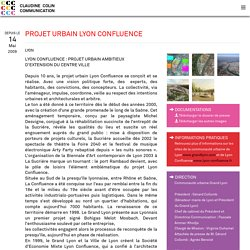PROJET URBAIN LYON CONFLUENCE - <p>Lyon</p>