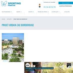Projet urbain ZAC Borderouge