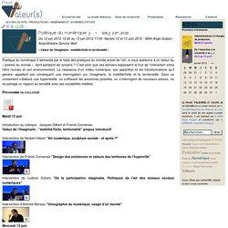 Projet Valeur(s)