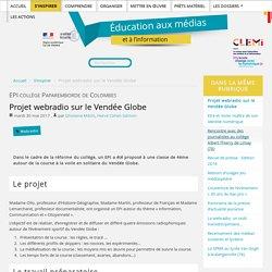 Projet webradio sur le Vendée Globe