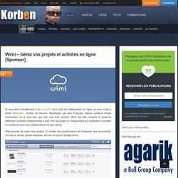 Wimi - Gérez vos projets et activités en ligne [Sponsor]