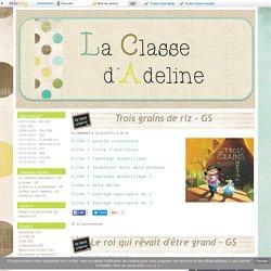 Projets autour d'album GS - La Classe d'Adeline