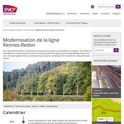 Projets et chantiers Rennes-Redon