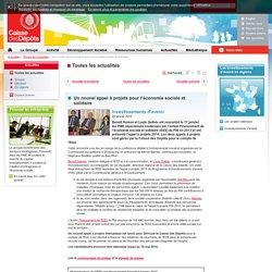 Un nouvel appel à projets pour l'économie sociale et solidaire