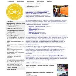 Projets Européens - Groupe d'Appui et de Solidarité