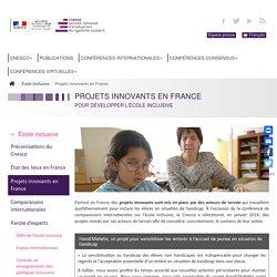 Ecole inclusive : Projets innovants en France