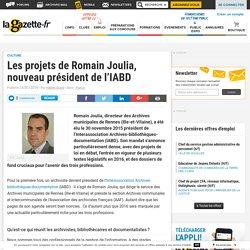 Les projets de Romain Joulia, nouveau président de l'IABD