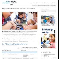 679 projets Ecole Numérique sélectionnés pour la session 2020