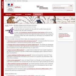 Des projets numériques au service de la lecture et de l'écriture-Lettres-Éduscol