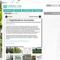 Projets du lab - Paris&Co Expérimentation