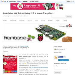 60 projets pour votre Raspberry Pi