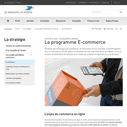 Projets prioritaires communs : E-commerce