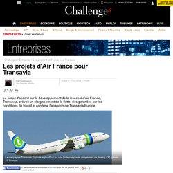 Les projets d'Air France pour Transavia - 17 octobre 2014