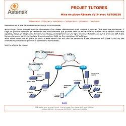 Projets Tutorés: Mise en place Asterisk