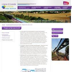 raktresoù liammet get an LTB: Projets en lien avec la LGV - Ligne à Grande VITESSE - Bretagne Pays de la Loire