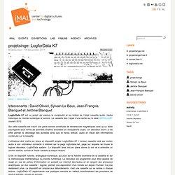 projetsinge: LogforData K7