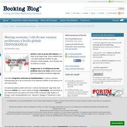 Sharing economy: i siti di case vacanza proliferano a livello globale [INFOGRAFICA]