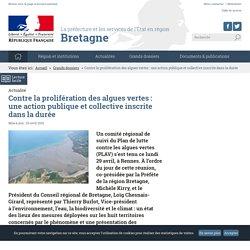 prefectures-regions_gouv_fr 29/04/19 Contre la prolifération des algues vertes : une action publique et collective inscrite dans la durée
