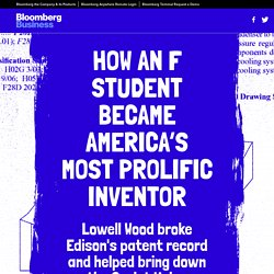 How an F Student Became America's Most Prolific Inventor — Bloomberg Business
