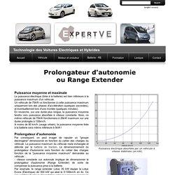 Prolongateur d'autonomie (Range Extender)