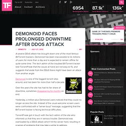 Demonoid Faces Prolonged Downtime After DDoS Attack