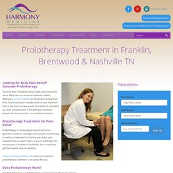 Prolotherapy Franklin TN