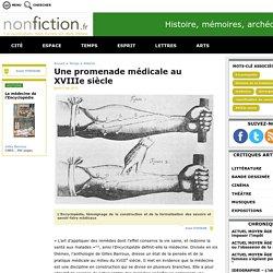Une promenade médicale au XVIIIe siècle