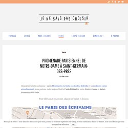 Promenade parisienne : de Notre-Dame à Saint-Germain-des-Prés