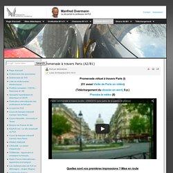 Promenade à travers Paris (A2/B1)
