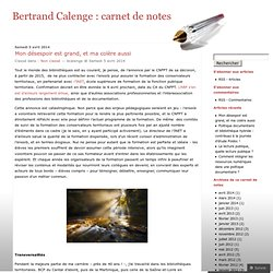 Bertrand Calenge : carnet de notes