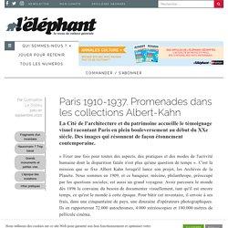 Paris 1910-1937. Promenades dans les collections Albert-Kahn -