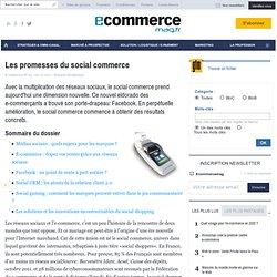 Les promesses du social commerce - Les fondamentaux E-commerce - TENDANCE