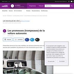Les promesses (trompeuses) de la voiture autonome