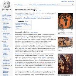 Prometeusz (mitologia)