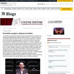 Prométhée sanglant, allégorie du théâtre
