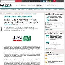 Brésil : une cible prometteuse pour l'agroalimentaire français