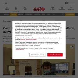Caen. Lucas Murand promeut le patrimoine culturel au lycée
