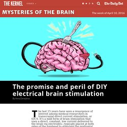 The promise and peril of DIY electrical brain stimulation