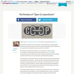 """The Promise of """"Open Co-operativism"""""""