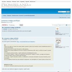 Leggi argomento - Lawsonia e Indigo certificati