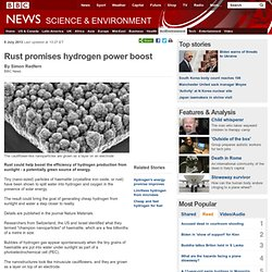 Rust promises hydrogen power boost