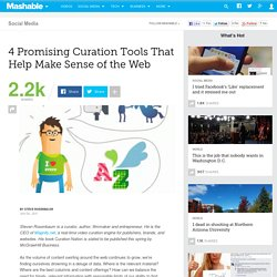 4 Promising Curation Tools That Help Make Sense of the Web