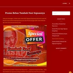 Promo Bebas Tambah Nasi Sepuasnya - Ngasap Kang Asep