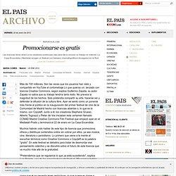 Promocionarse es gratis · ELPAÍS.com