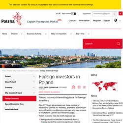 Foreign investors in Poland