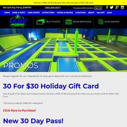 Best Promos & Offers by Air Riderz Trampoline Park Aurora