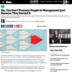 Bien choisir ses managers : les clés du #leadership